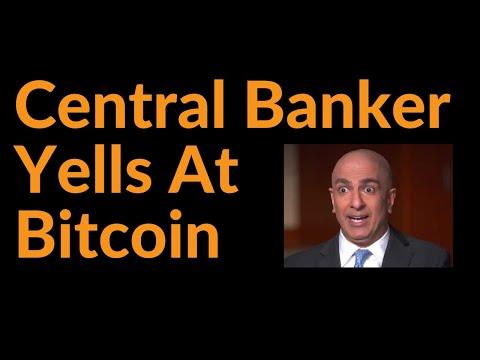 Central Banker Yells At Bitcoin
