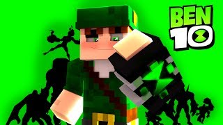 Minecraft BEN 10 : ENCONTREI O OMNITRIX VIREI O CHAMAS !! (MACHINIMA)