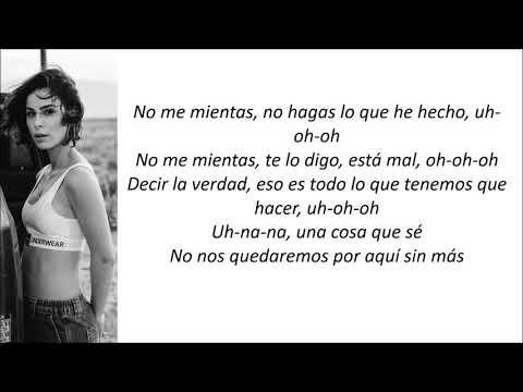 Lena - Don't Lie To Me (Letra En Español)