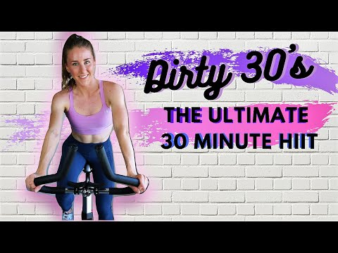 30 MINUTE SPIN CLASS: THE ULTIMATE HIIT   INDOOR CYCLING WORKOUT