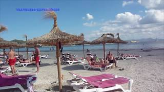 Alcudia Beach Mallorca Spain 2017 Must See & Do Travel Guide