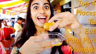 having pani puri