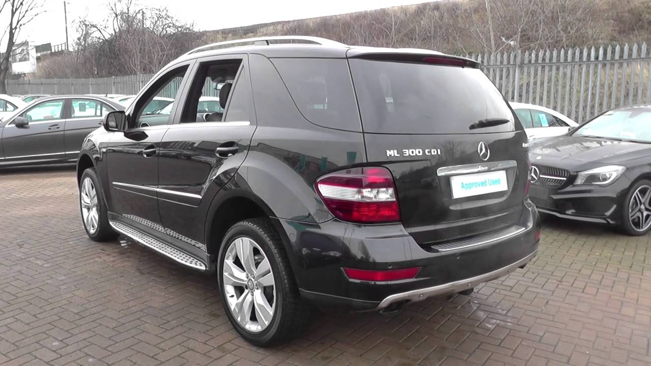 Mercedes benz m class ml300 cdi blueefficiency sport 5dr for Mercedes benz ml series