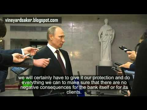 "Putin's ""confession"" about the ""polite armed men in green"""