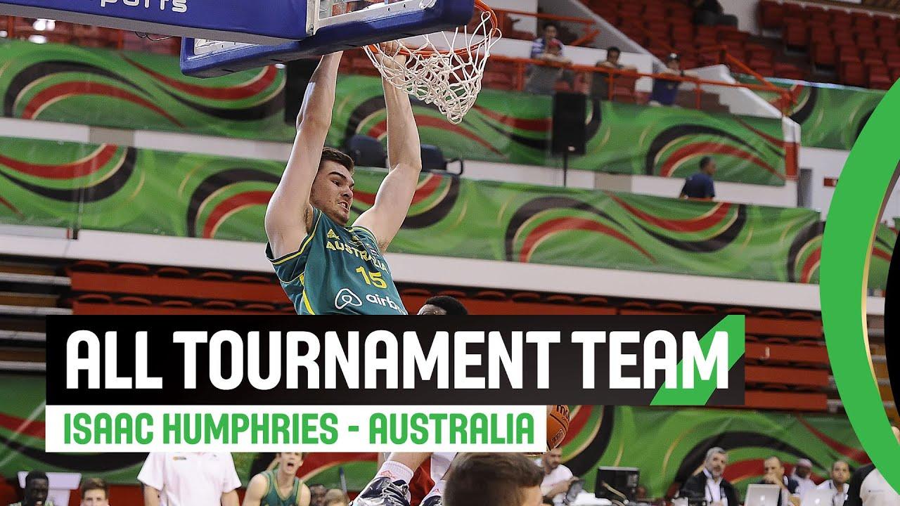 All tournament team - Isaac Humphries (AUS)