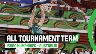 All tournament team - Isaac Humphries - 2014 FIBA U17 World Championship