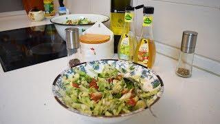 Секрет вкусного летнего зеленого салата!