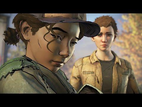 Jane Flashback Scene - The Walking Dead Game Season 3 Episode 4  