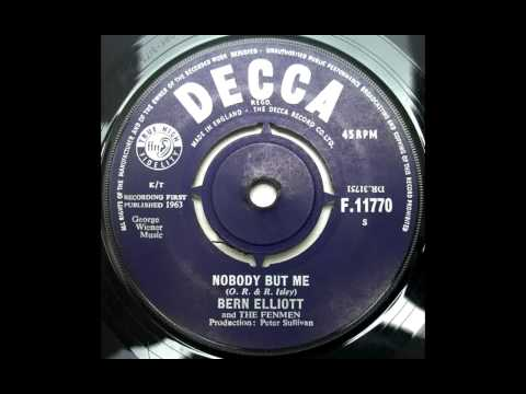 Bern Elliott And The Fenmen - Nobody But Me (The Isley Brothers Cover)