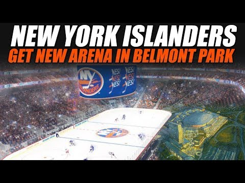 Islanders Getting A New Arena In Belmont Park!