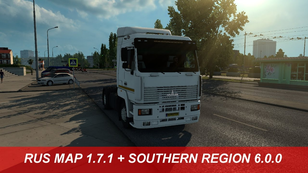 Ets 2 Rus Map 1 7 1 Southern Region 6 0 0 1 26