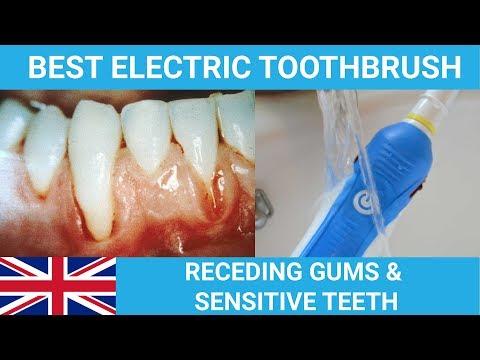 Best Electric Toothbrush For Receding Gums & Sensitive Teeth