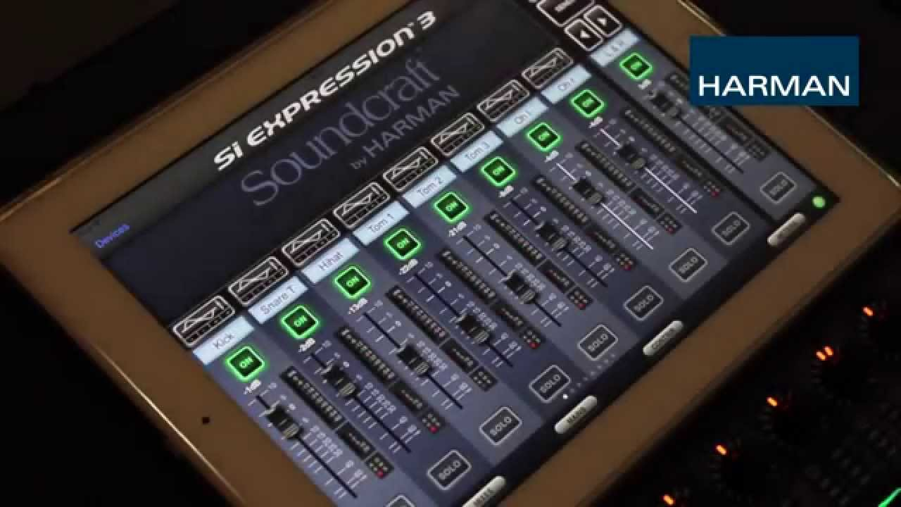 Si Expression 2 Soundcraft Professional Audio Mixers