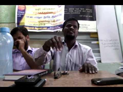 Tamil Islam Convert ஜகதீசன் என்ற ஜாபர் Way to Paradise Class
