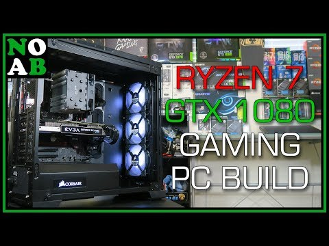 $1200 Ryzen 1700X + GTX 1080 PC Build (Gaming, Streaming, Editing, Productivity, etc.)