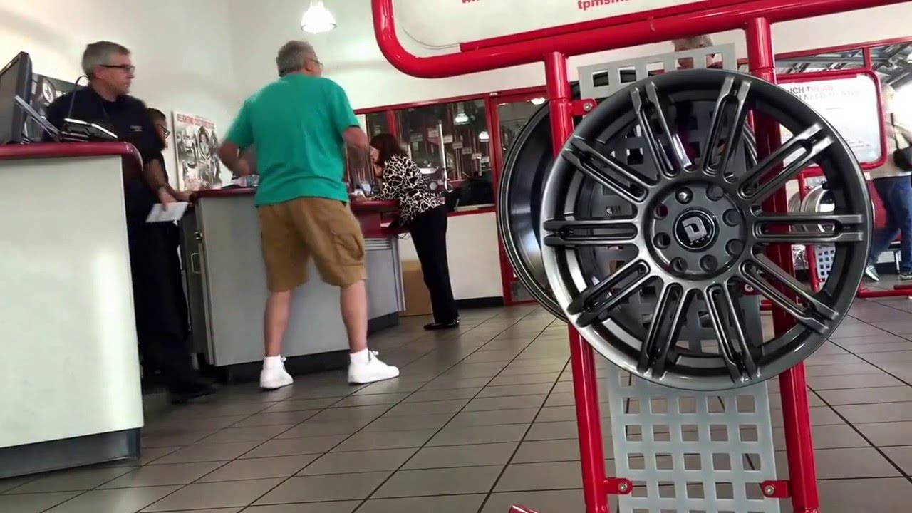Old Man Gets Crazy At America S Tire Youtube