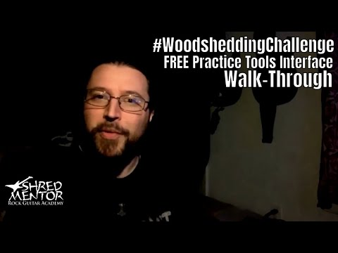 Woodshedding Challenge Interface Walk-Through | ShredMentor