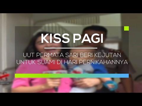 Uut Permata Sari Beri Kejutan Untuk Suami Di Hari Pernikahannya - Kiss Pagi