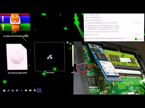 How To Install PCIe NVMe SSD Driver On Offline Windows 7 Image (Fix Driver Missing Error)