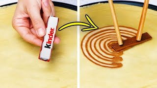 33 AMAZING CHOCOLATE AND PASTRY IDEAS || DIY Kitchen Hacks And Simple Dessert Recipes