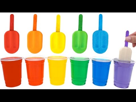 Thumbnail: Play Doh Popsicles Treats DIY Ice Cream Ultimate Rainbow Colors How To * RainbowLearning