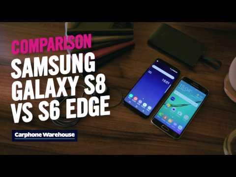 Samsung Galaxy S8 vs S6 edge: 30 sec review