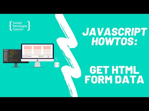 How To Get Form Data With JavaScript