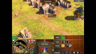 Age of Empires 3: how to beat an expert ai commentary