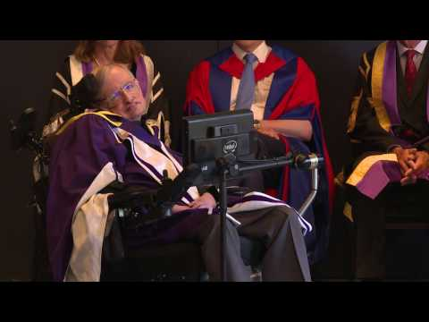Professor Stephen Hawking awarded honorary degree by Imperial