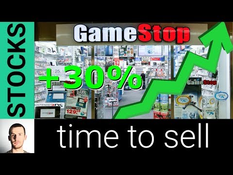 GameStop Stock Up HUGE Over 30% - Is It Time To Sell GME?