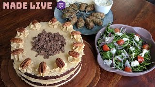 Live Cooking | Grandma's Molly's Birthday Cake | #284
