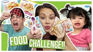 Americans Try Japanese Baby Food!