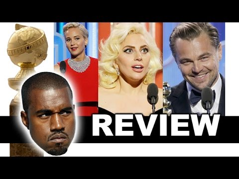 Thumbnail: Golden Globes 2016 Review & Reaction - Lady Gaga, Jennifer Lawrence, Leonardo DiCaprio - Winners