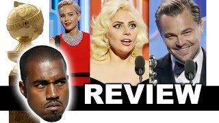 Golden Globes 2016 Review & Reaction - Lady Gaga, Jennifer Lawrence, Leonardo DiCaprio - Winners