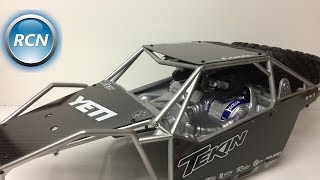 Axial Yeti XL - Xtreme Racing Carbon Fiber Panels