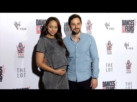 Amber Stevens and Andrew J. West 2018 Dances With Films