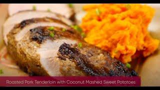 Roasted Pork Tenderloin with Sweet Potatoes