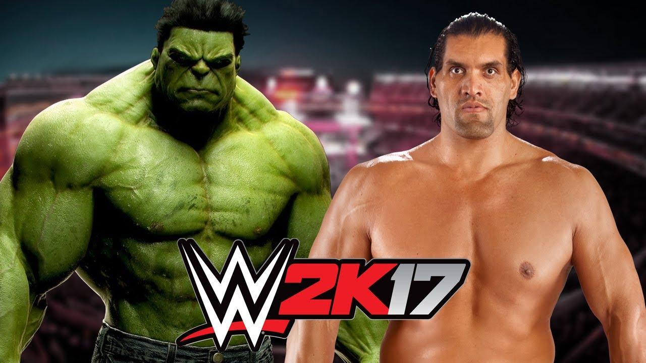 hulk vs the great khali youtube