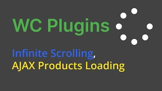 Free Plugin  Infinite Scrolling, Ajax Products Loading For Woocommerce