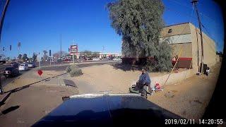 Man in Wheelchair Walks to Clear the Way || ViralHog