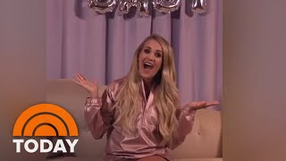 Congrats! Carrie Underwood Announces She's Pregnant | TODAY