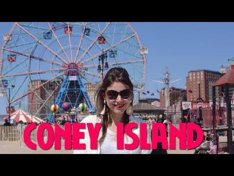 Conhecendo a Coney Island em Nova York