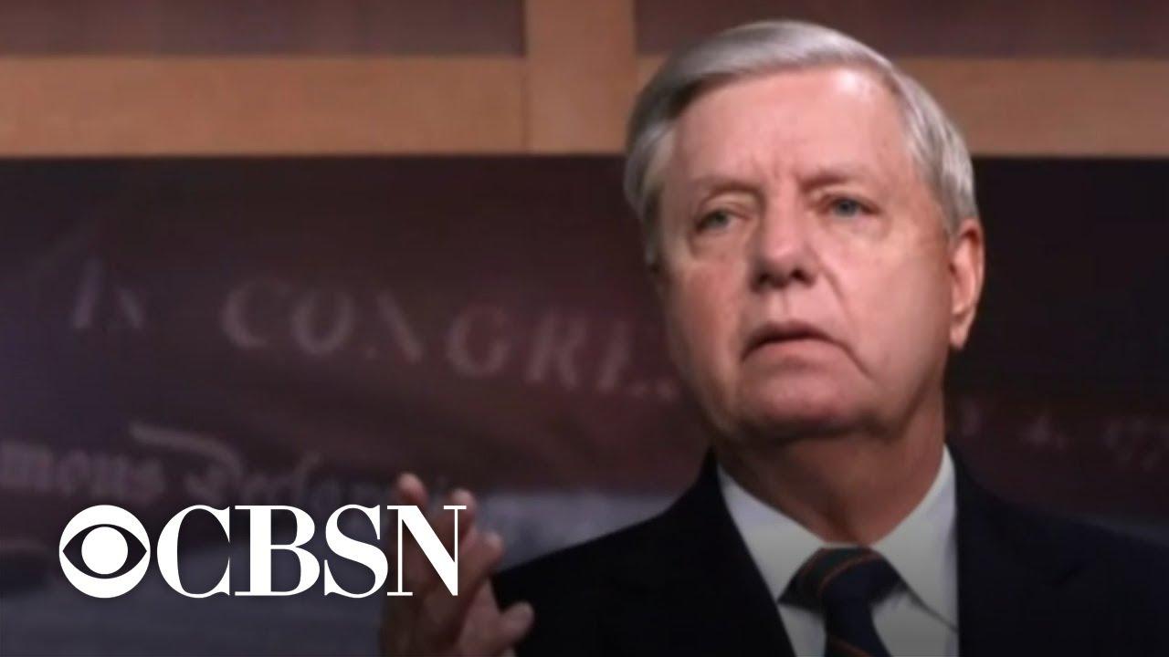 'Very glad I was vaccinated': GOP Sen. Lindsey Graham tests ...