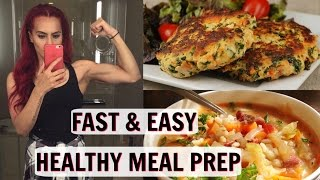 QUICK AND EASY MEAL PREP RECIPES | BODMONZAID