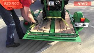 Red Roo: Tilt Trailer Equipment Trailer - Hire a Trailer Part 1