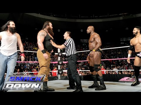 The Prime Time Players vs. Luke Harper & Braun Strowman: SmackDown, Oct. 15, 2015