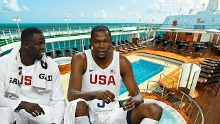 Kevin Durant, Kyrie Irving & Team USA Living On Yacht Instead of Olympic Village