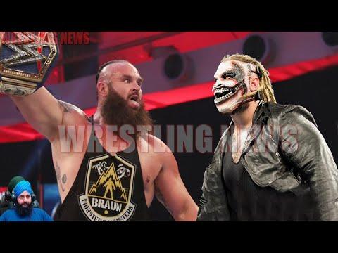 Braun Strowman Vs Fiend Bray Wyatt WWE Universal Championship Match