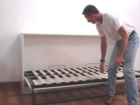 Mecanismo para cama de embutir solteiro youtube - Ideas para cabeceros de cama ...
