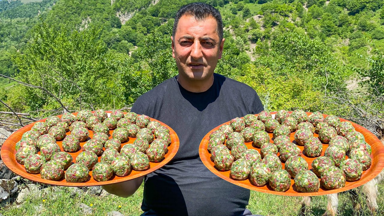 A VERY DELICIOUS RECIPE FOR TURSHU KEBAB! A FILM ABOUT LIFE IN THE VILLAGE